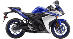 rent a Yamaha YZF R3