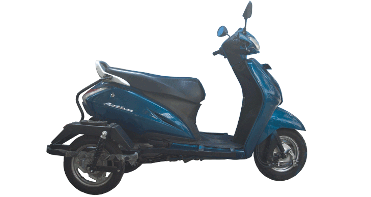 rent a Activa - Assisted (Specially abled)